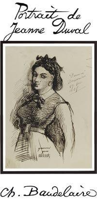 Portrait of Jeanne Duval