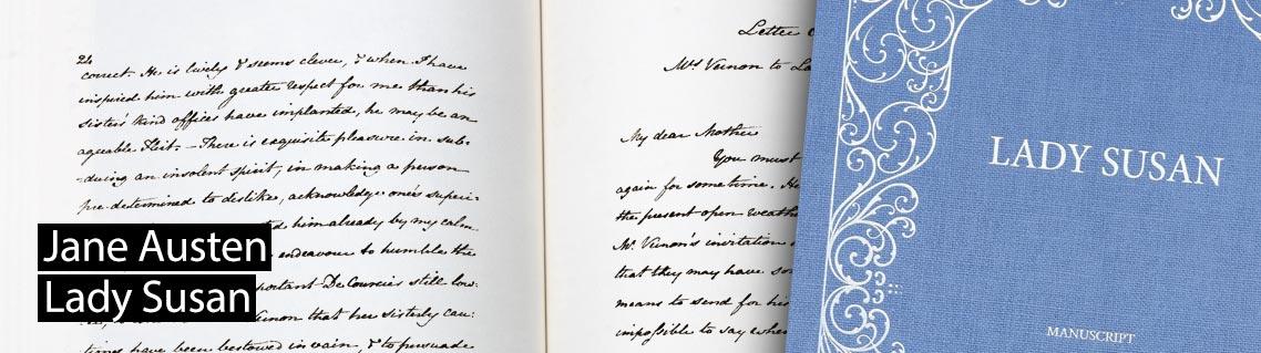 Lady Susan, the manuscript of Jane Austen